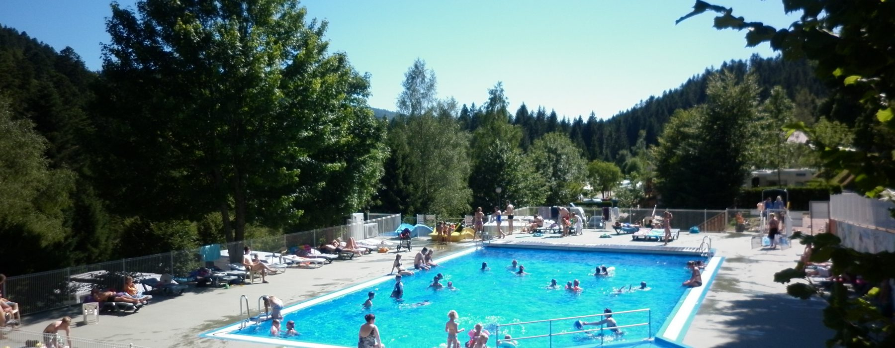 Swimming Pool Area   Camping Belle Hutte dedans Camping Gérardmer Avec Piscine