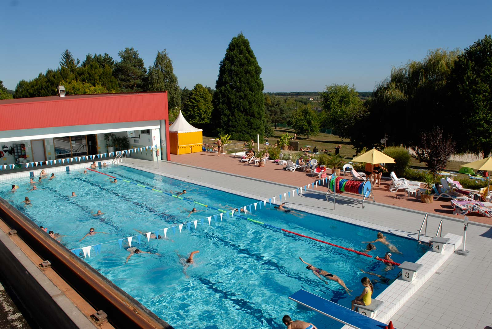 Swimming Pool Summer/winter - Les Aqualies - Niederbronn Les ... dedans Piscine Aqualis