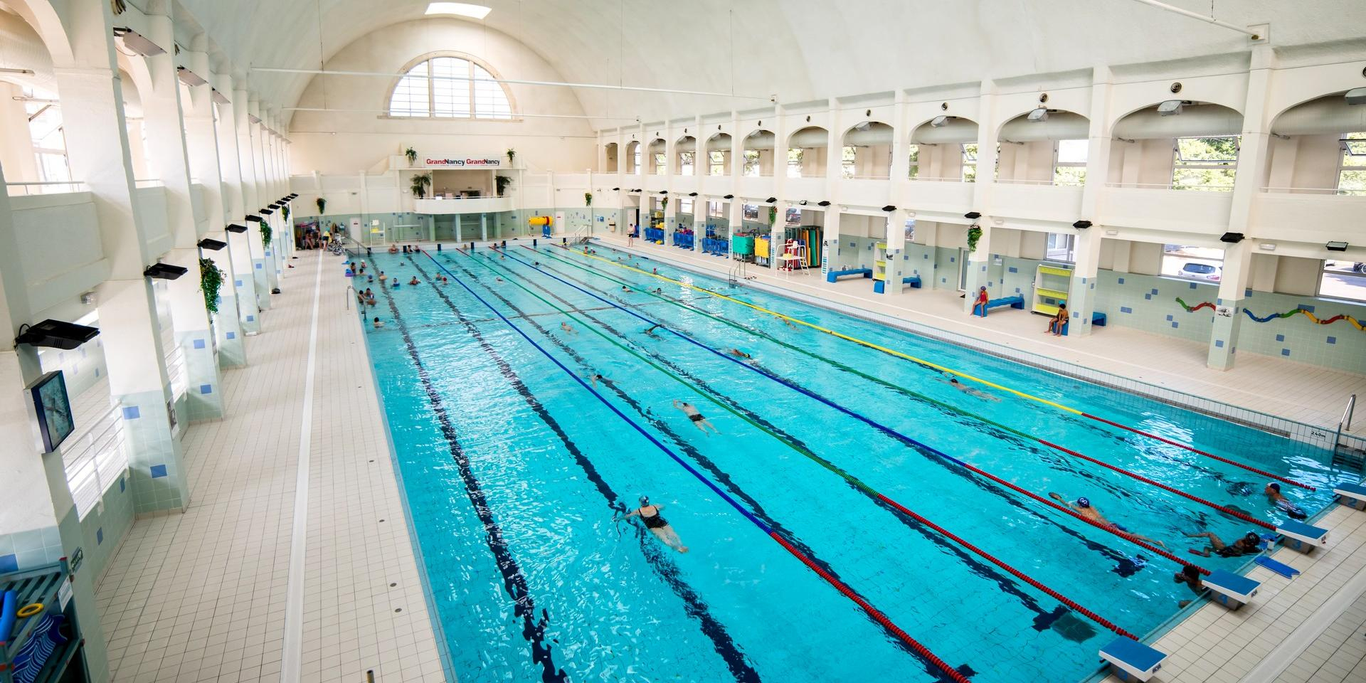 Swimming Pools And Grand Nancy Thermal | Nancy Tourisme serapportantà Piscine Du Lido