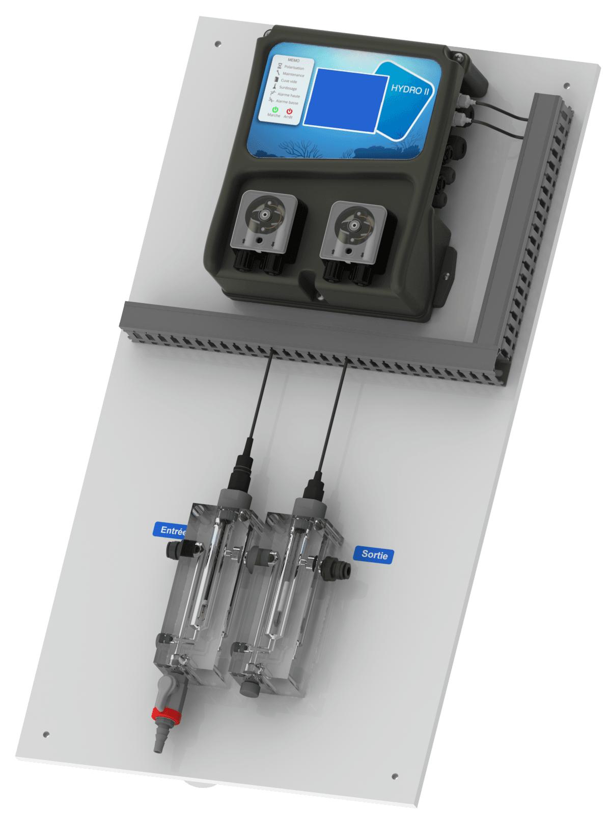 Syclope Electronique | Qualité De L'eau Pour Piscines ... avec Regulateur Ph Et Chlore Piscine