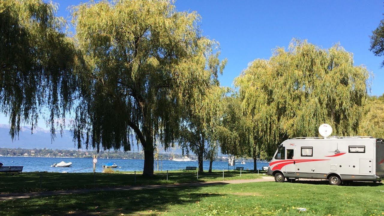 Tcs Camping Genève-Vésenaz Au Bord Du Lac Léman encequiconcerne Camping Lac Léman Avec Piscine