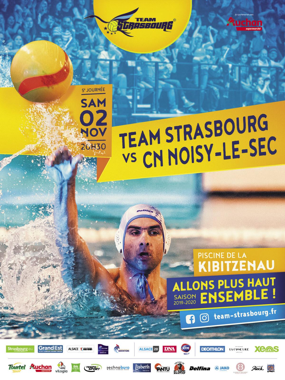 Team Strasbourg Vs Cn Noisy Le Sec : Water Polo A Strasbourg tout Piscine De Noisy Le Sec