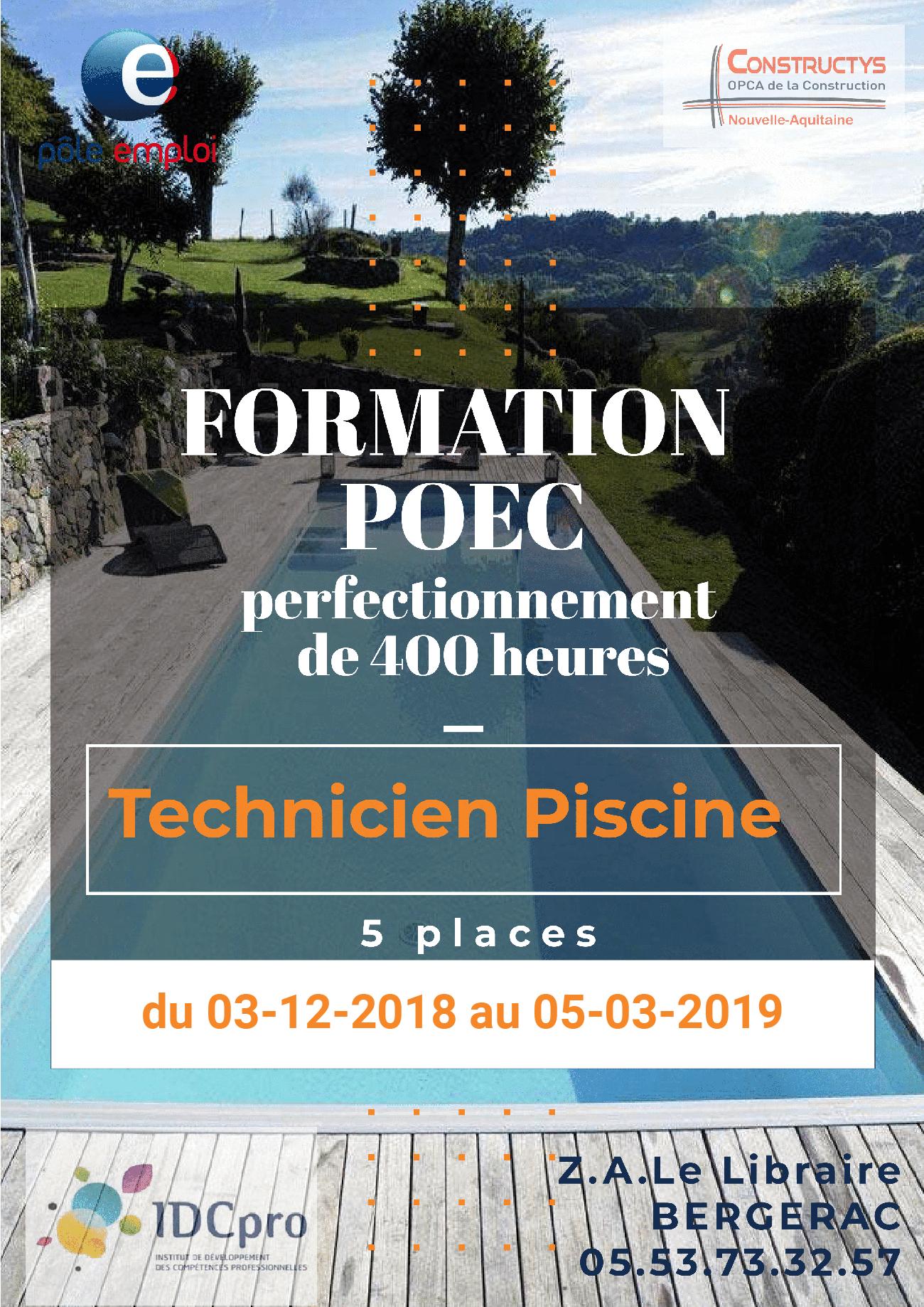 Technicien Maintenance Piscine – Installation Et Dépannage ... serapportantà Formation Pisciniste