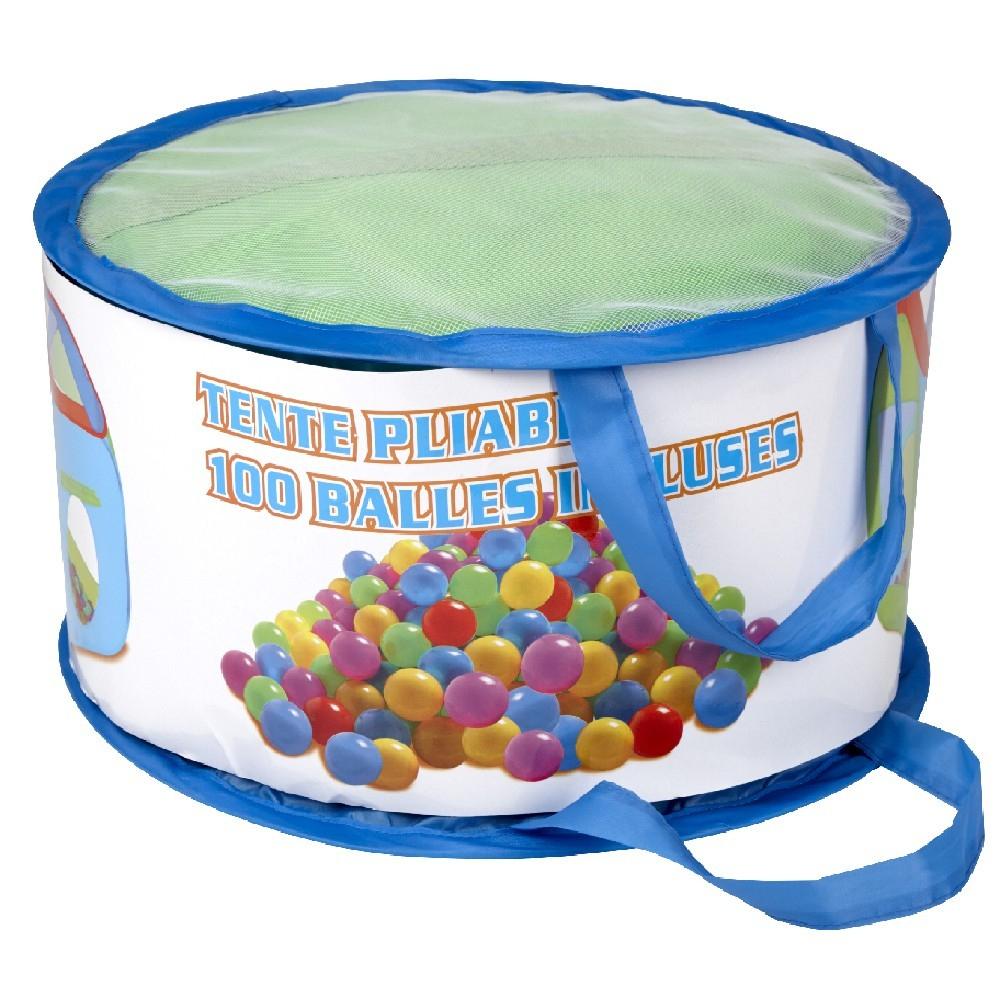 Tente Pliable Avec 100 Balles encequiconcerne Piscine A Balle Gifi