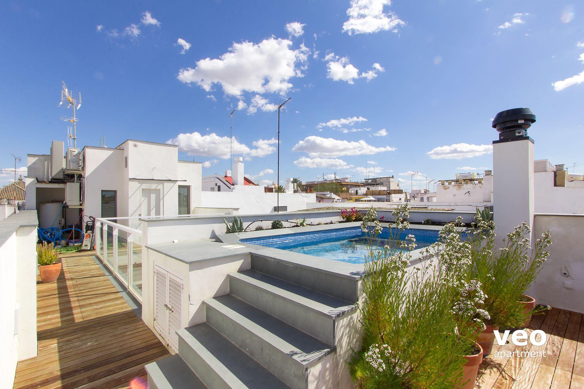 Teodosio Terrace pour Hotel Seville Piscine