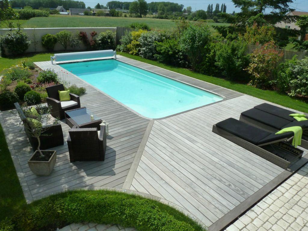 Terrasse Composite Piscine Des Idées - Idees Conception Jardin encequiconcerne Aménagement Autour D Une Piscine Hors Sol