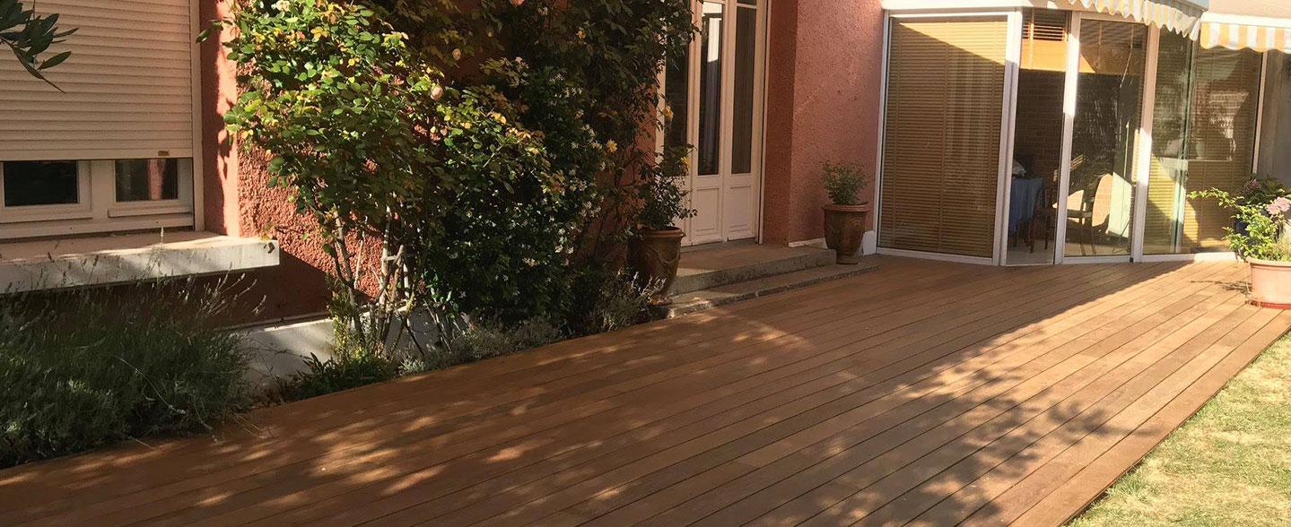 Terrasse En Bois À Amiens ; Abbeville, Albert, Roye ... tout Piscine Doullens
