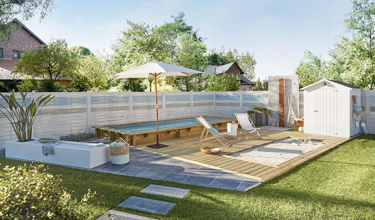 Terrasse Et Plage De Piscine : Qu'en Disent Les Experts ? encequiconcerne Aménagement Autour D Une Piscine Hors Sol