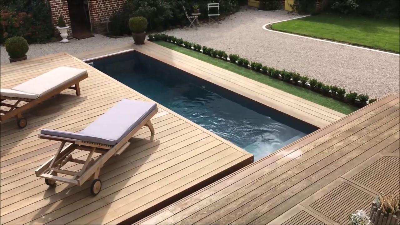 Terrasse Mobile Coulissante De Piscine : Un Rolling-Deck® En Un Module À  Ouverture Latéral à Piscine Encastrable