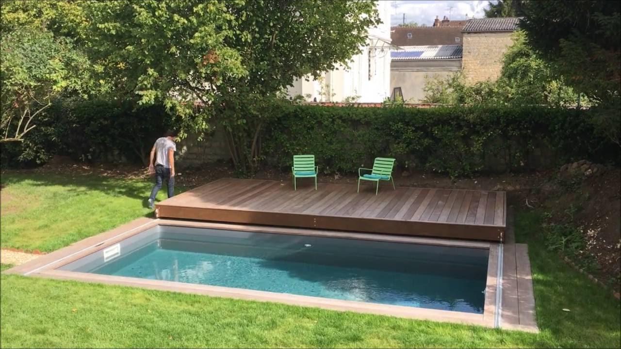 Terrasse Mobile De Piscine : Un Rolling-Deck® De Plus De 6M De Porteafaux  En Ile De France avec Fabriquer Une Terrasse Mobile Pour Piscine