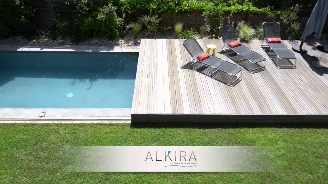 Terrasse Mobile Piscine Alkira - encequiconcerne Fabriquer Une Terrasse Mobile Pour Piscine