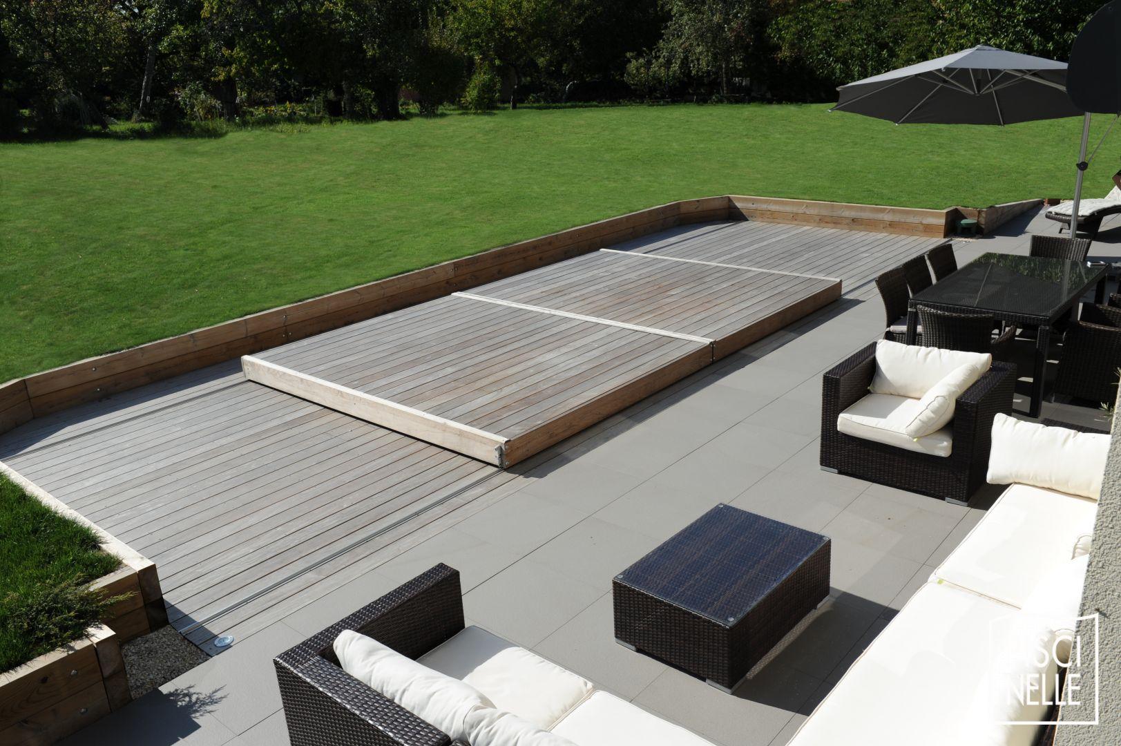 Terrasse Piscine Mobile : Le Rolling-Deck Piscinelle ... à Piscine 3X3