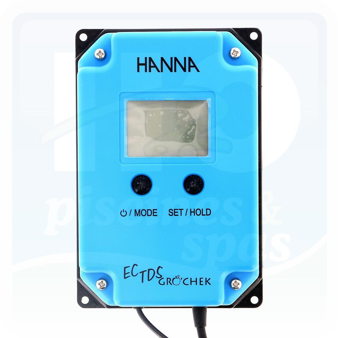 Testeur De Sel Permanent Hanna Tds Gro Chek - H2O Piscines & Spas destiné Testeur Piscine