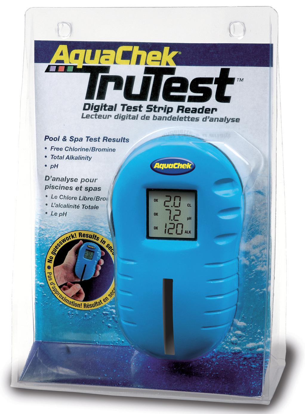 Testeur Tru Test Digital Aquachek + 25 Bandelettes tout Testeur Piscine