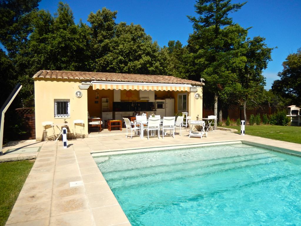 Thb Villa Avec Piscine Privée Au Sel Hotel In Uchaux tout Hotel Piscine Privée France