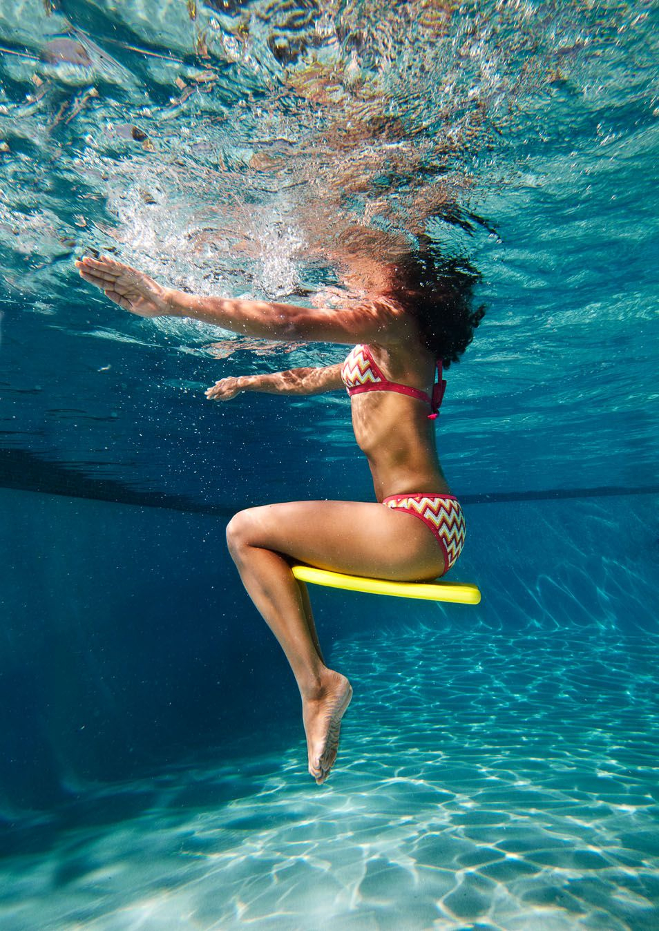 The Best No-Lap Pool Workout | Exercices Natation, Exercice ... à Musculation Piscine