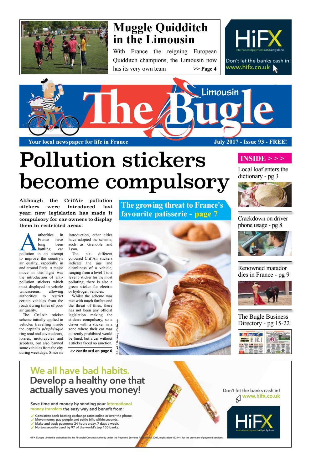 The Bugle Limousin - Jul 2017 By The Bugle - Issuu pour Legislation Piscine Hors Sol