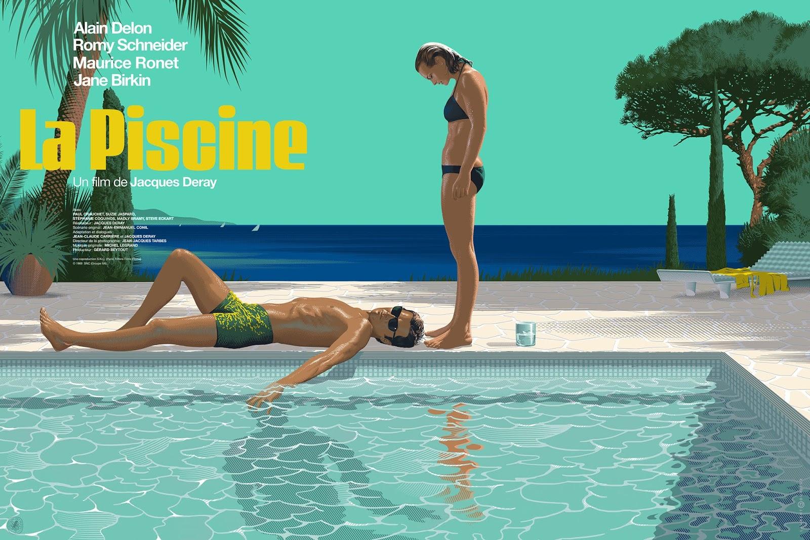 The Geeky Nerfherder: #coolart: 'la Piscine (The Swimming ... tout Piscine Originale