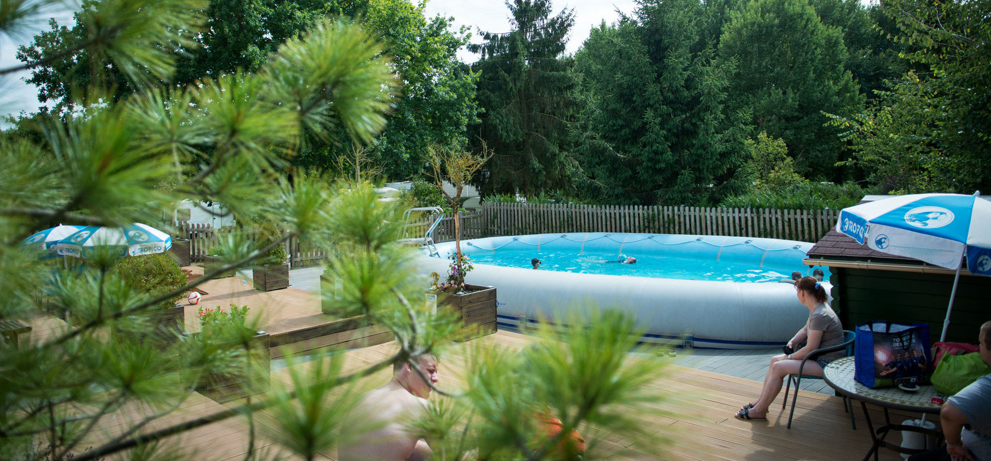 The Other Way Of Staying Overnight Near Paris - Camping De ... destiné Piscine De Bresles