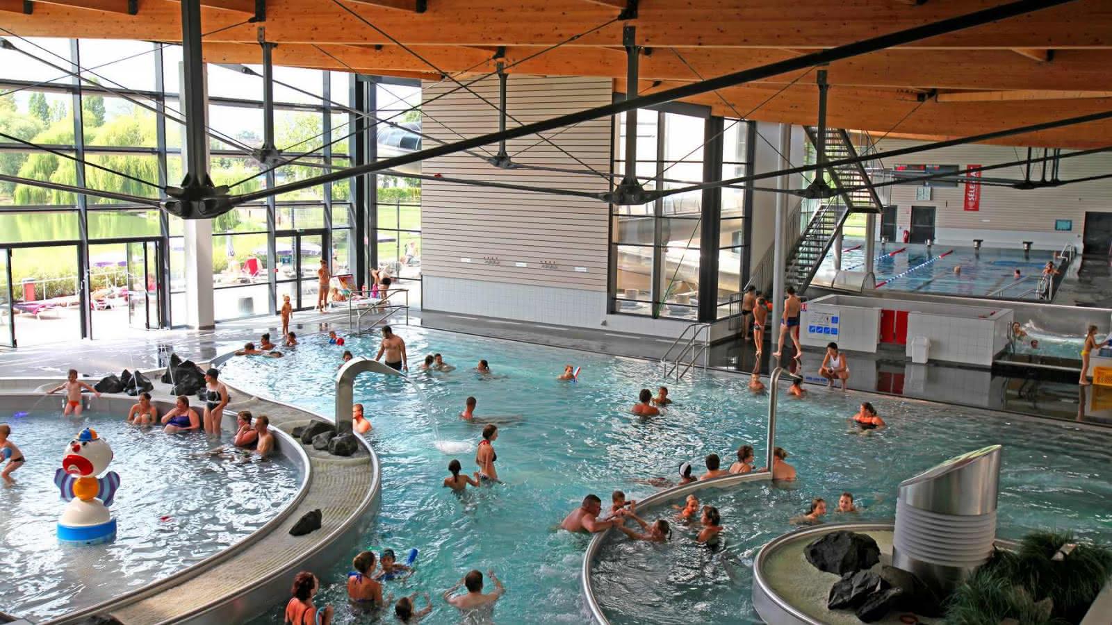 The Remparts Swimming Pool - Selestat | Visit Alsace destiné Piscine Selestat