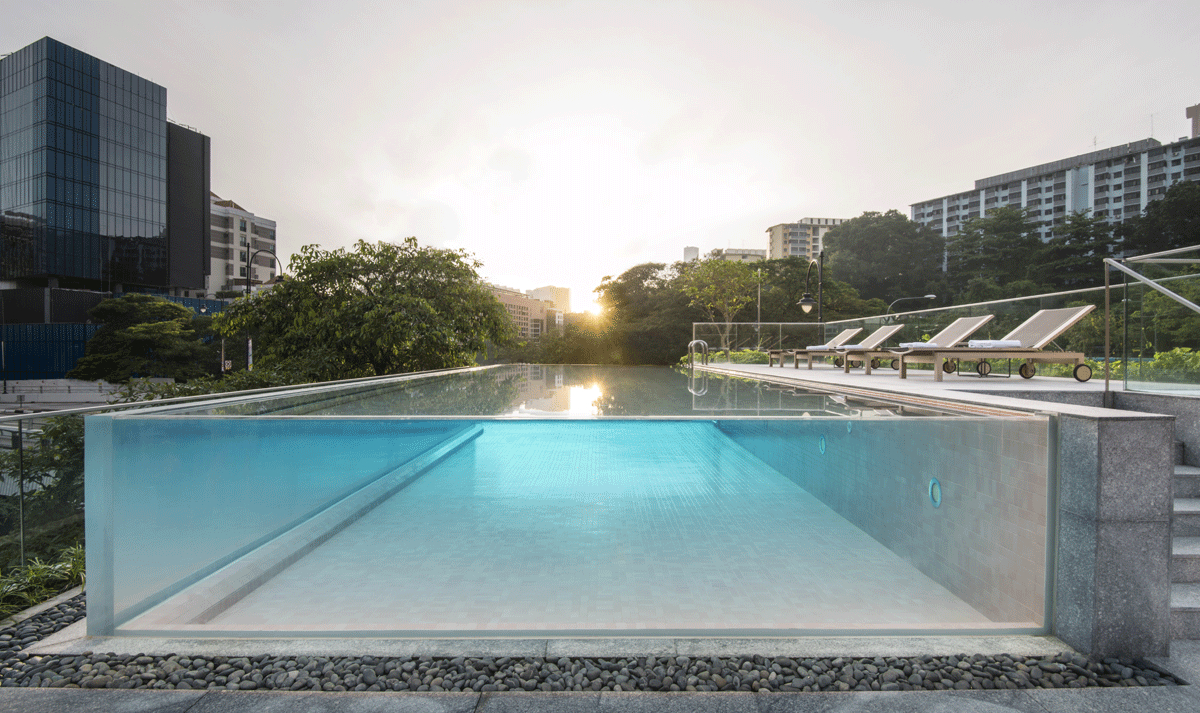 The Warehouse, L'hôtel Iconique De Singapour | Piscines De ... concernant Piscine Singapour