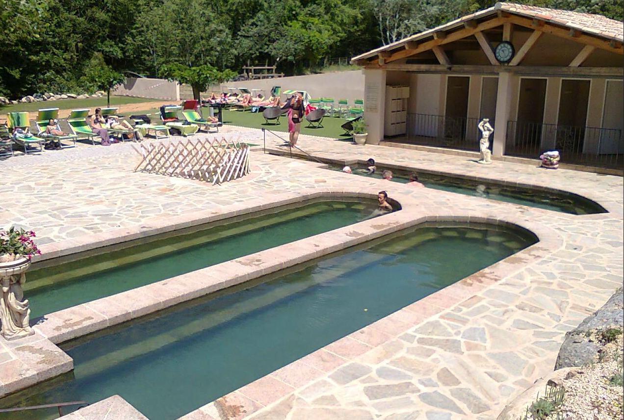Thermes En Corse Du Sud - Olmuccio Hôtel & Résidence intérieur Piscine Naturelle D Eau Chaude Corse Du Sud