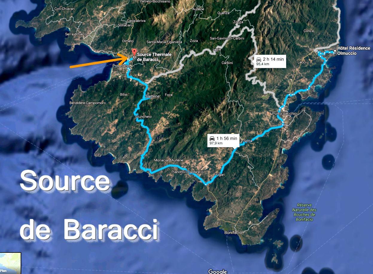 Thermes En Corse Du Sud - Olmuccio Hôtel & Résidence pour Piscine Naturelle D Eau Chaude Corse Du Sud