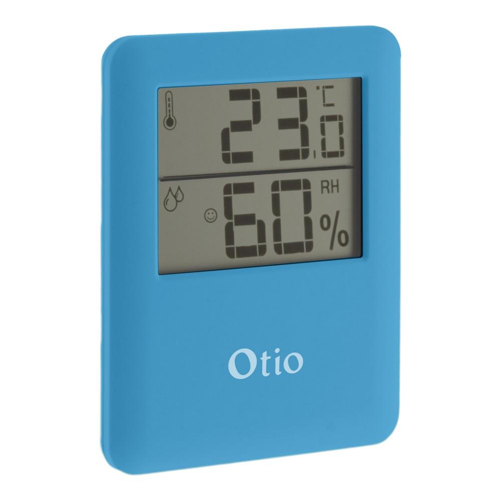 Thermomètre / Hygromètre Otio Intérieur Magnétique Bleu avec Thermometre Piscine Connecté