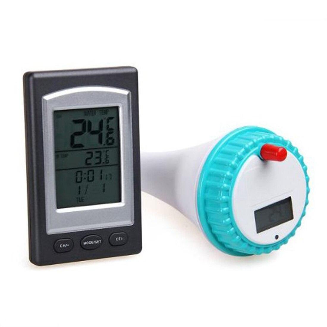 Thermomètres Clius Émetteur Bain À Remous Électronique Lcd ... tout Testeur Piscine Électronique