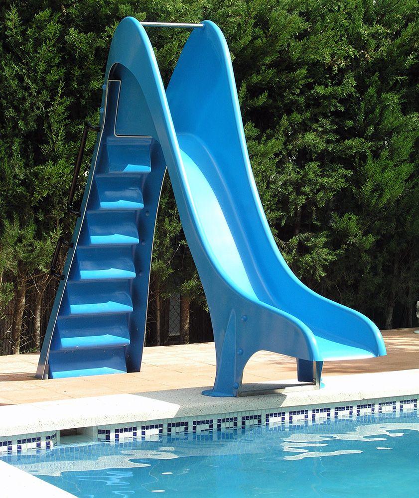 Tobogán Para Piscina - Pool Slide   Toboganes, Piscinas ... concernant Tobogan Piscine