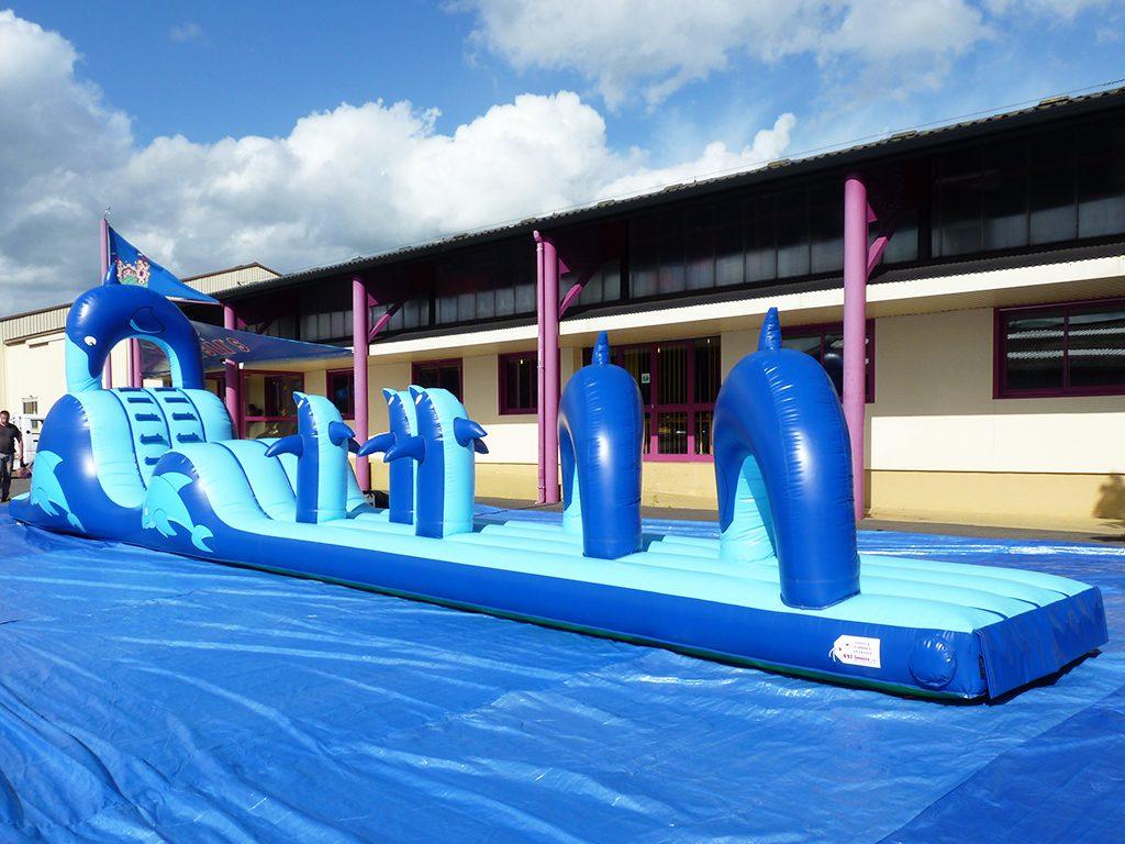Toboggan Aquatique Gonflable Pour Des Jeux Dans L'eau avec Toboggan Gonflable Pour Piscine