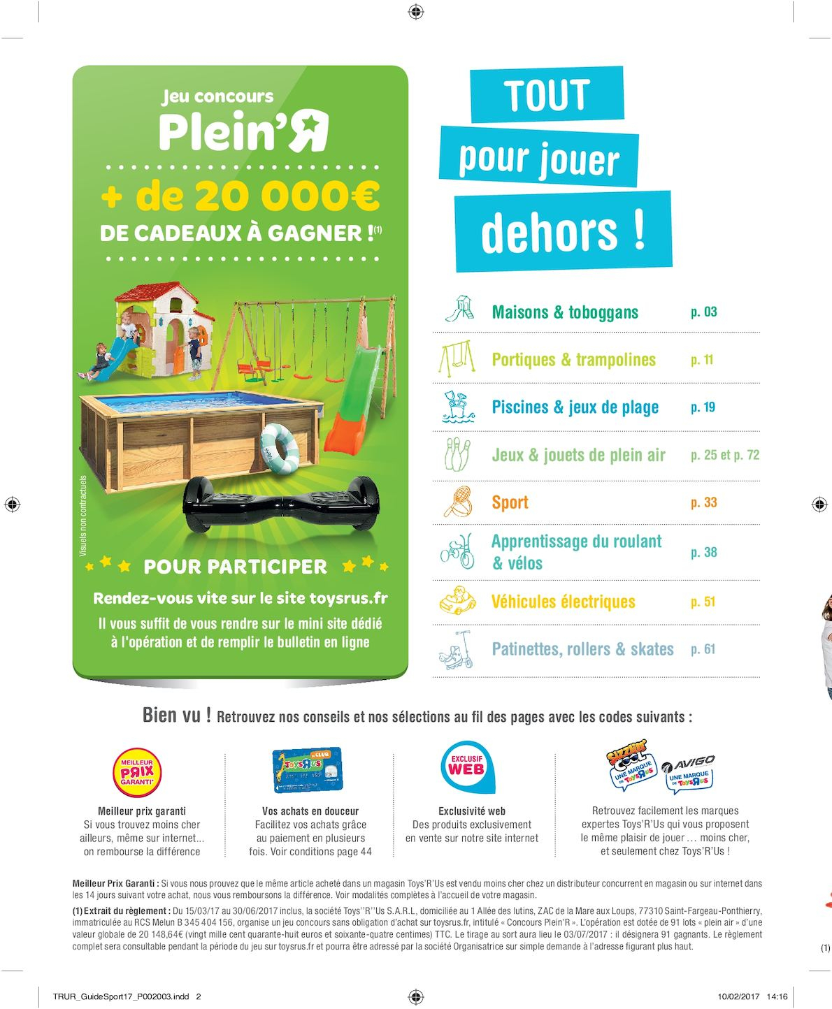 Toys'r'us Total Guide Plein Air 2017 - Calameo Downloader avec Piscine A Balle Toysrus