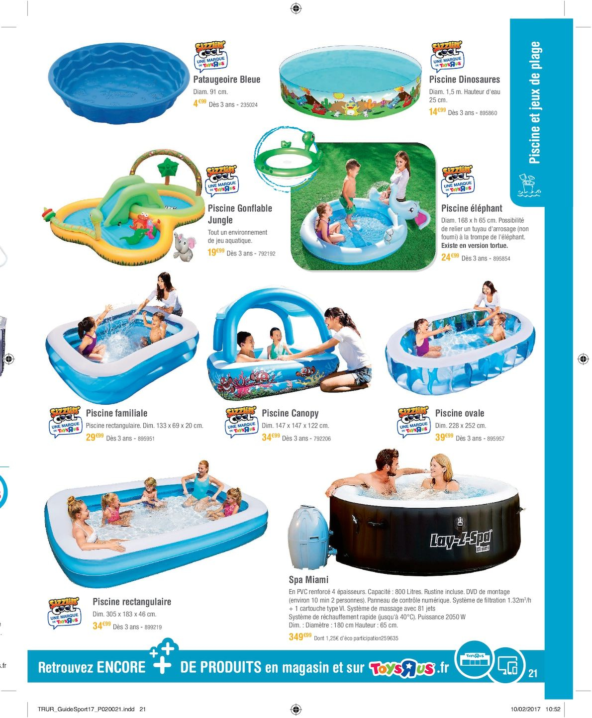 Toys'r'us Total Guide Plein Air 2017 - Calameo Downloader concernant Piscine A Balle Toysrus