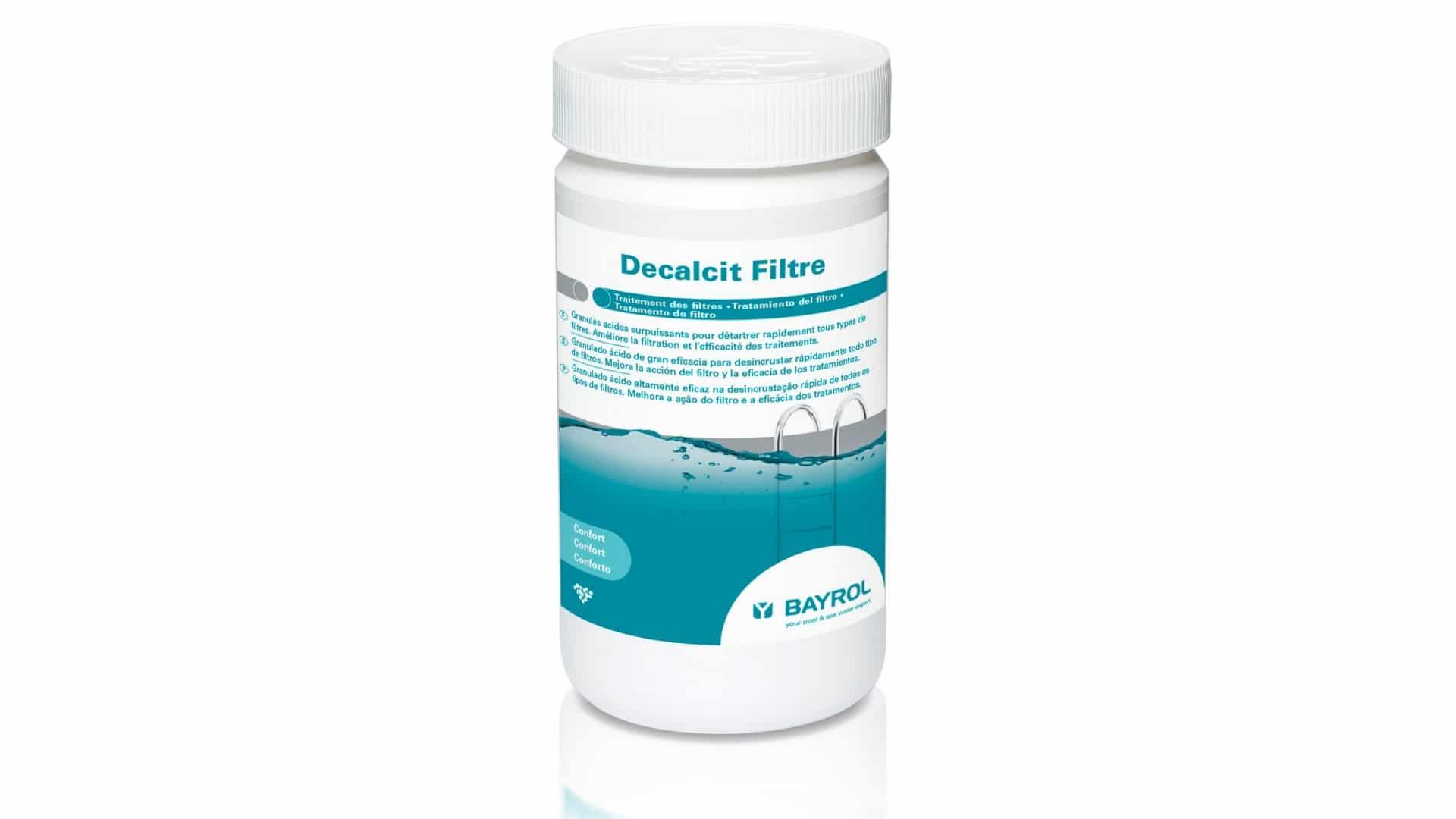 Traitement Des Filtres Decalcit Filtre Bayrol tout Filtre A Sable Piscine Mode D Emploi