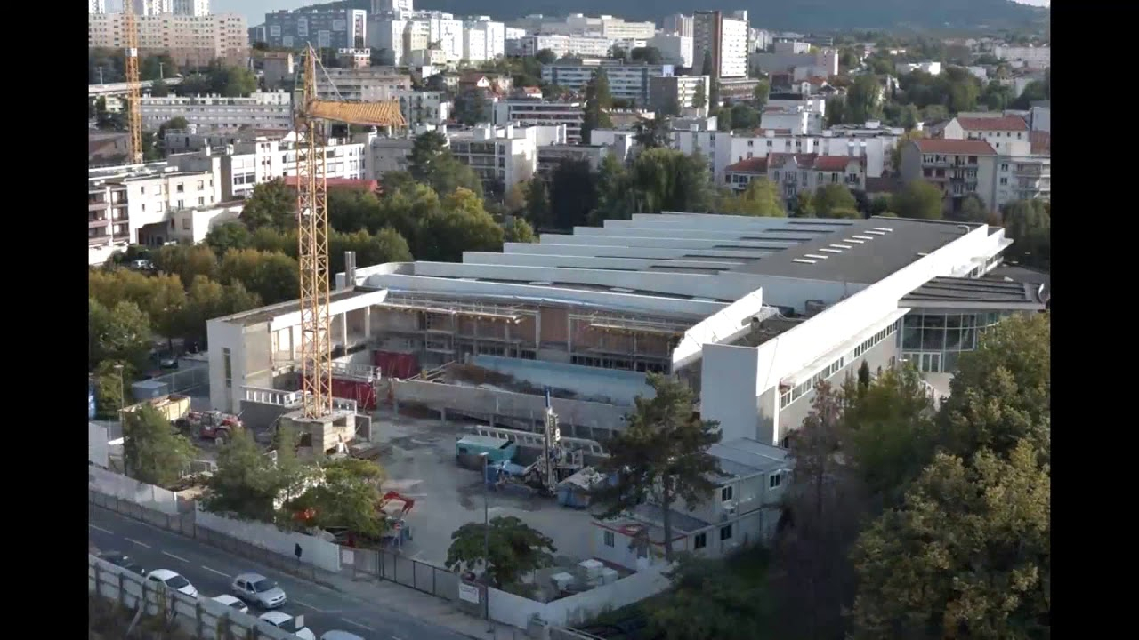 Travaux D'agrandissement Du Stade Nautique Pierre-De-Coubertin destiné Piscine Coubertin Clermont