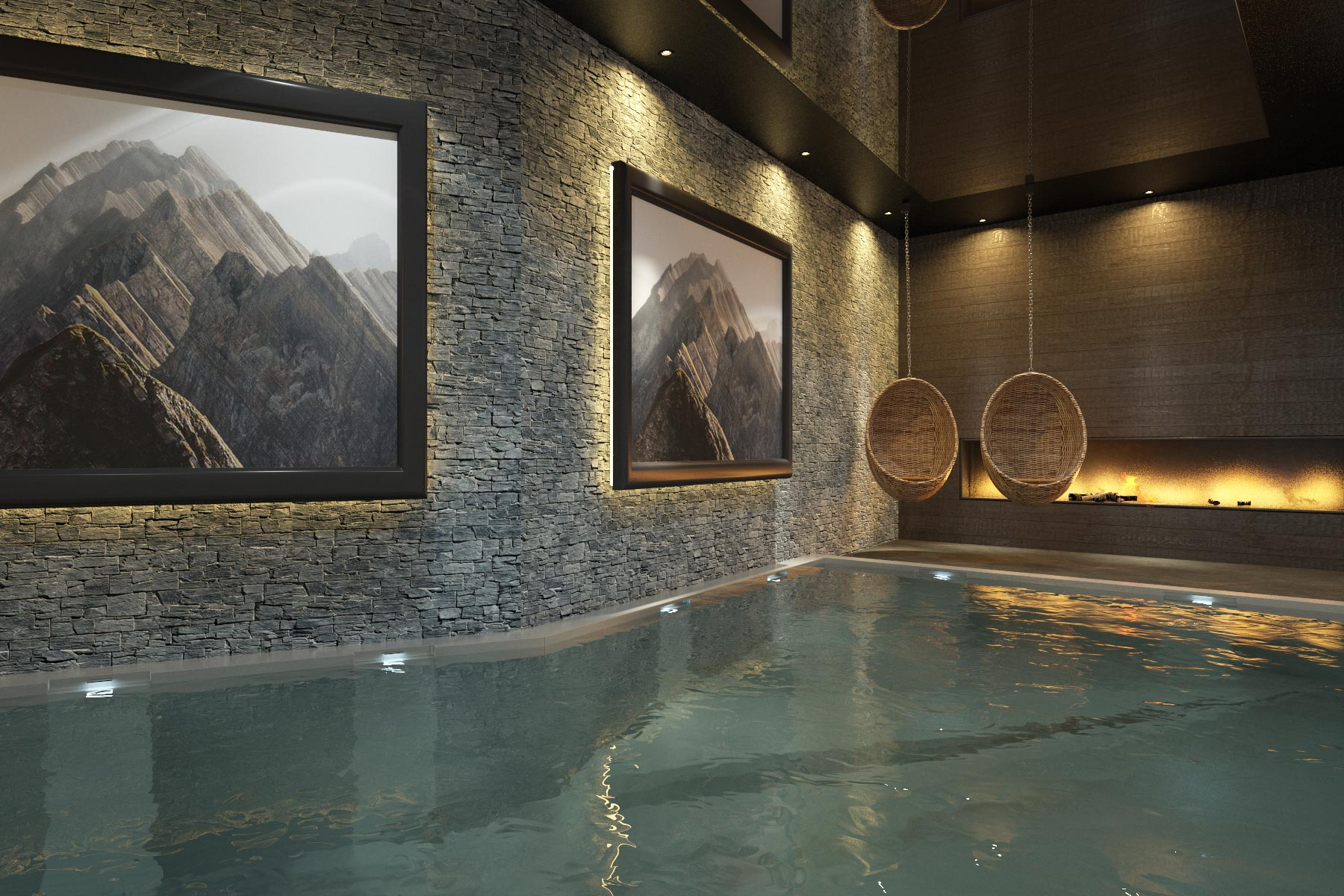 Triplex, Ski In Ski Out New Build Apartments For Sale, Avoriaz - concernant Avoriaz Piscine