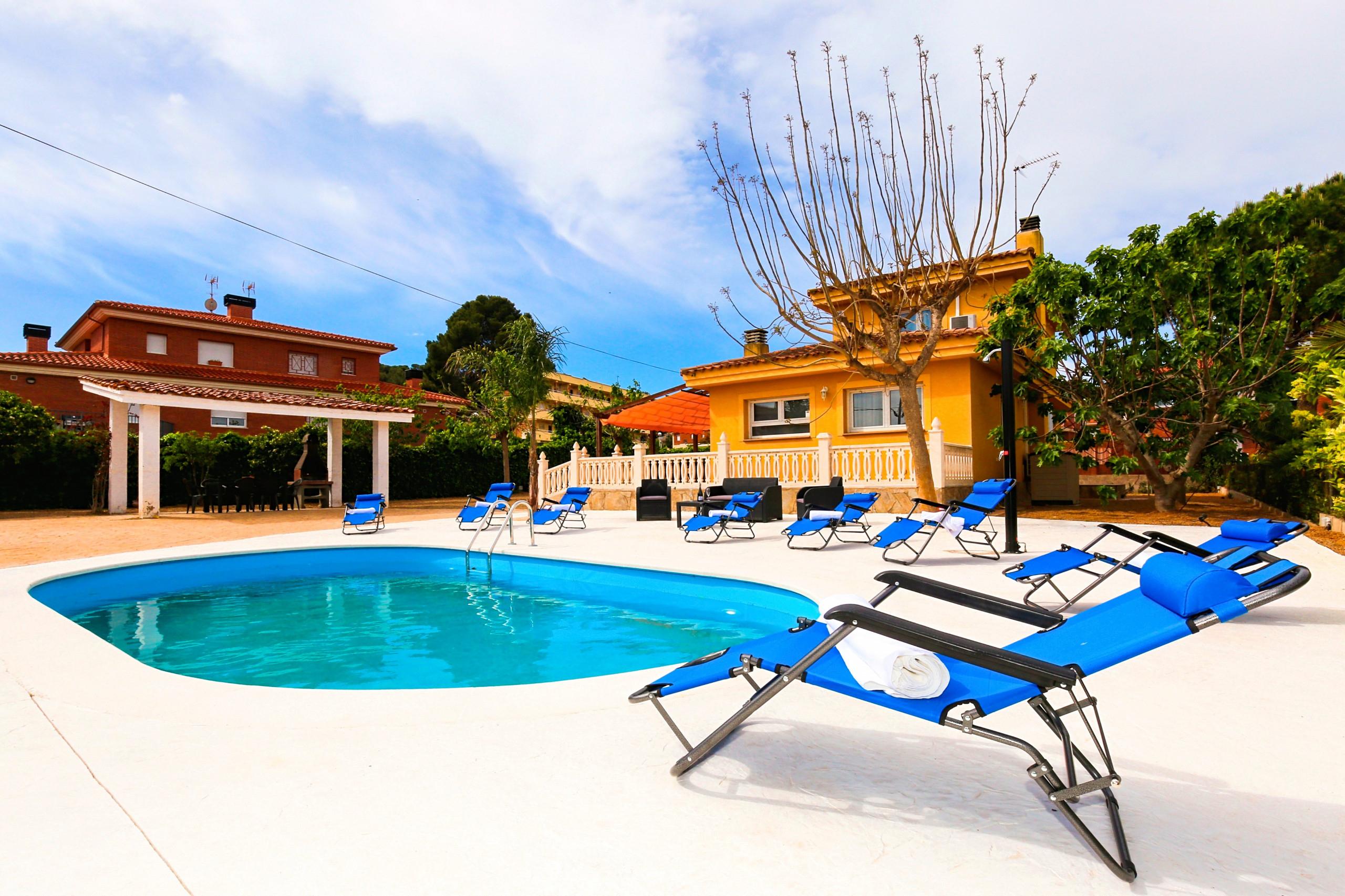 Tropical Avec Piscine Privée, Uniquement Pour Les Familles tout Location Villa Espagne Avec Piscine Privée