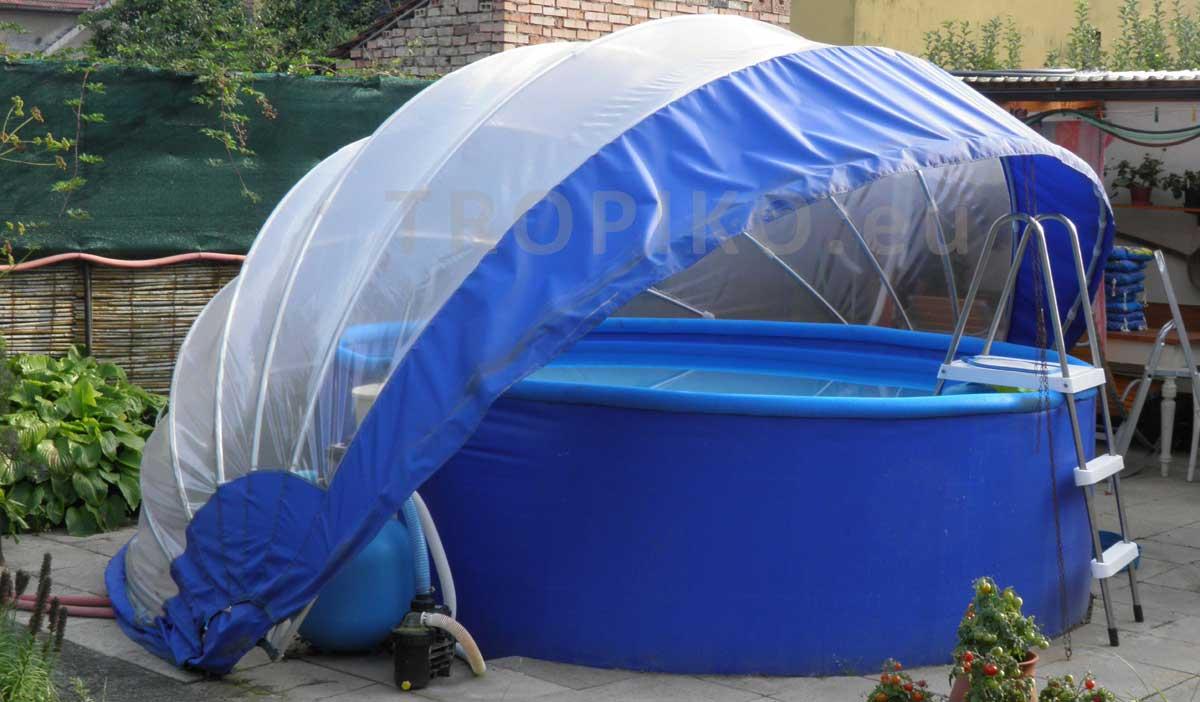 Tropiko 420 pour Dome Piscine Hors Sol