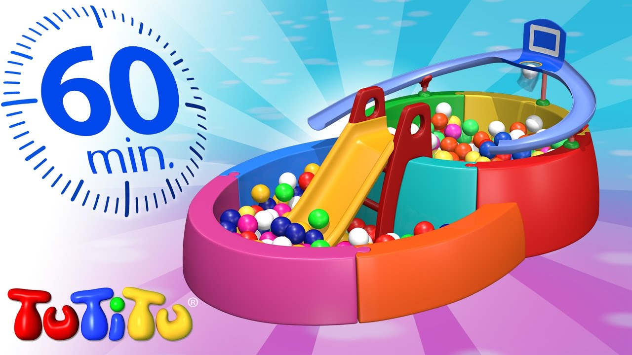 Tutitu In French | Ball Pit | And Other Popular Toys | 1 Hour Special serapportantà Piscine À Balle