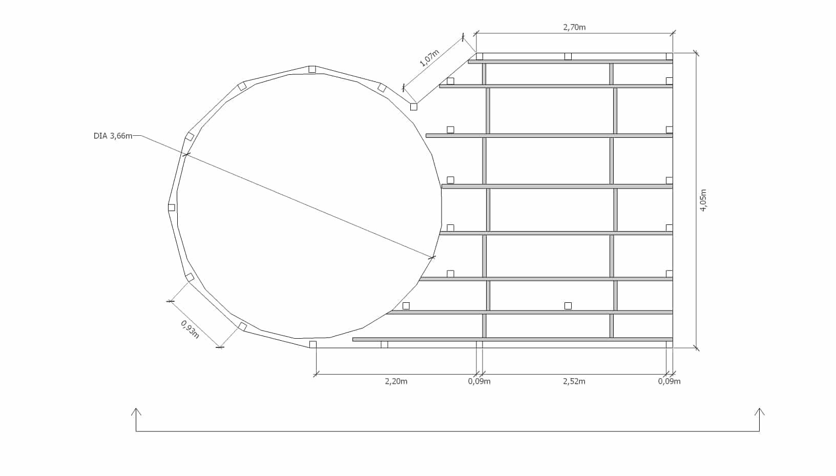 Tuto Déco: Aménager Une Terrasse Autour D'une Piscine ... à Plan De Coupe Piscine