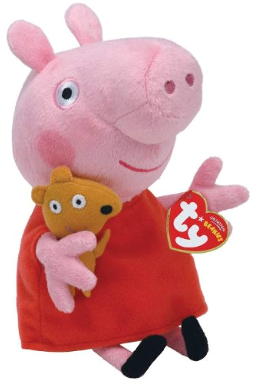 Ty – Beanies – Peppa Pig – Peppa – Peluche Douce 15 Cm serapportantà Peppa Pig À La Piscine