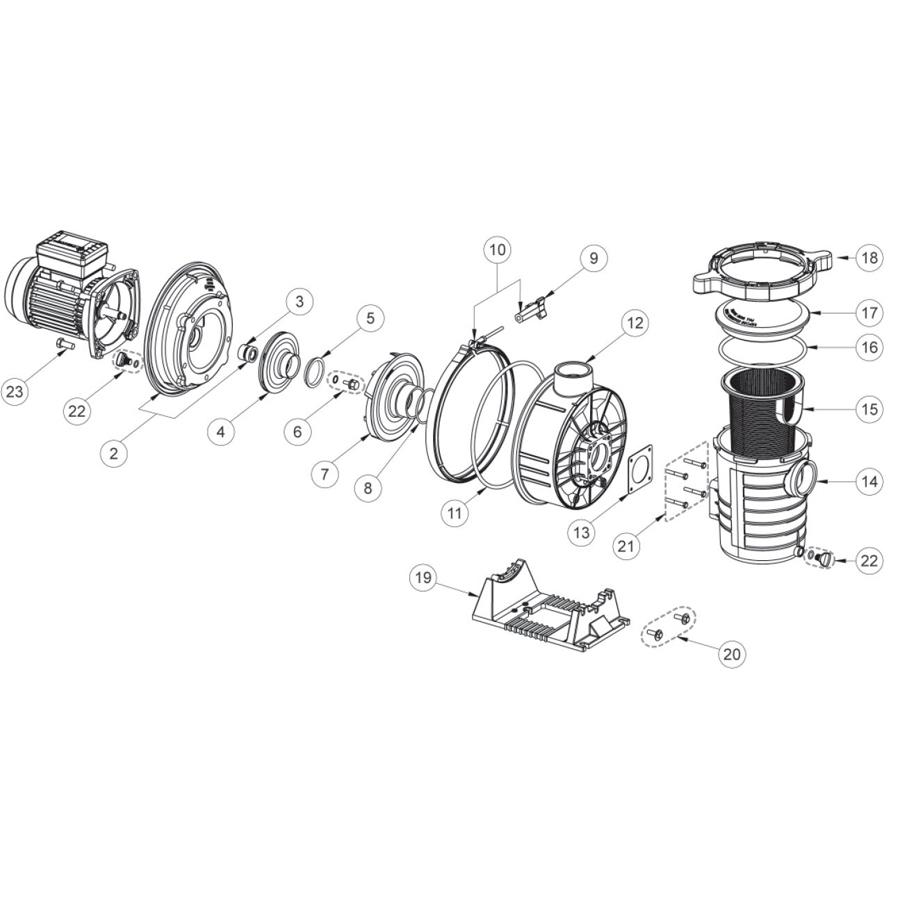 Ultra Flow - France Accessoires Piscines destiné Demontage Pompe Piscine