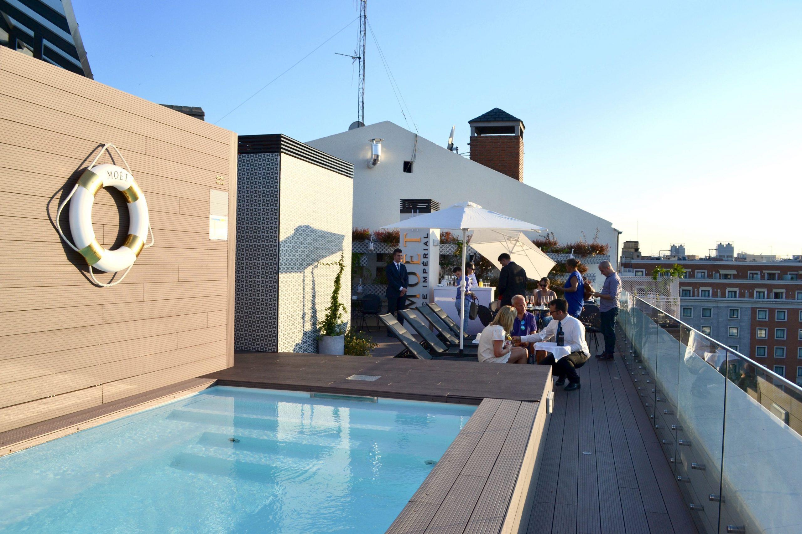 Un Bijou D'hôtel Avec Rooftop Piscine À Madrid   Madrid ... à Hotel Lisbonne Avec Piscine