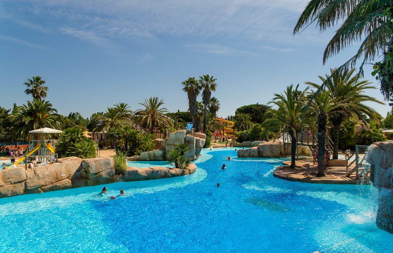 Un Parc Aquatique De 10 000 M² | Camping 5* La Sirène avec Camping Bord De Mer Mediterranee Avec Piscine