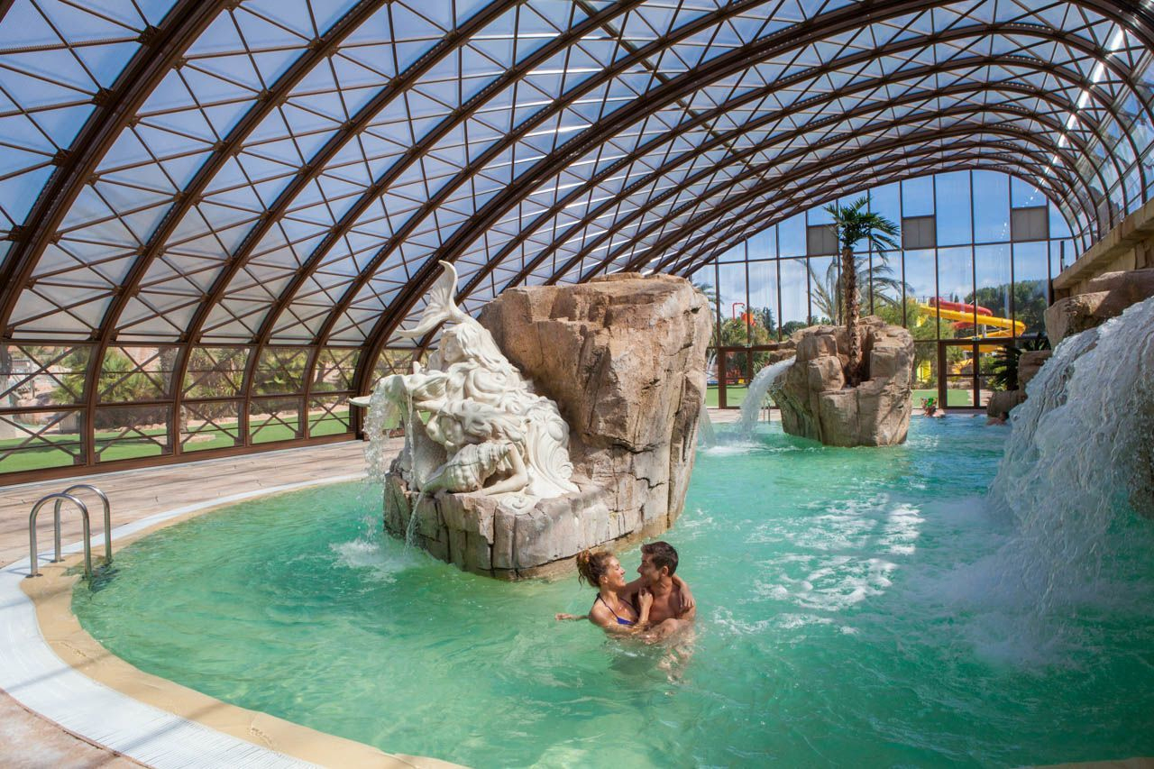 Un Parc Aquatique De 10 000 M² | Camping 5* La Sirène avec Piscine Avec Toboggan Ile De France