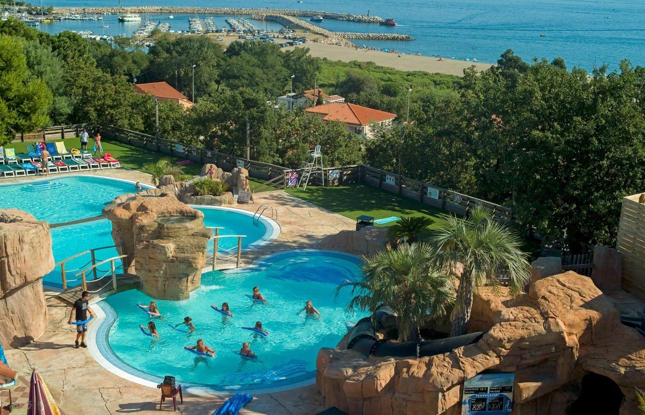 Un Parc Aquatique De Rêve | Camping Le Bois De Valmarie ... tout Camping Bord De Mer Mediterranee Avec Piscine