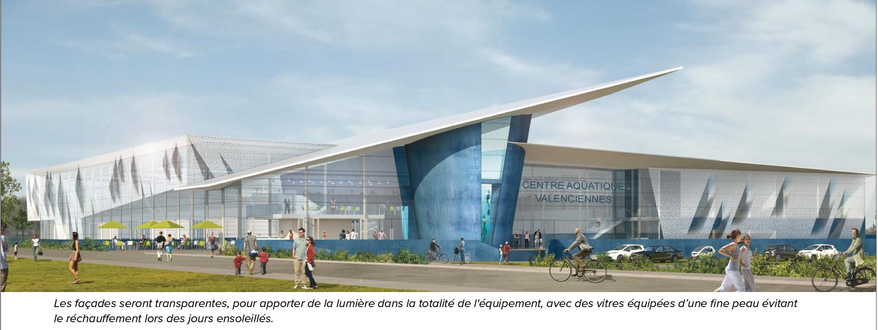 Un Projet Structurant Pour Valenciennes | intérieur Piscine Valenciennes