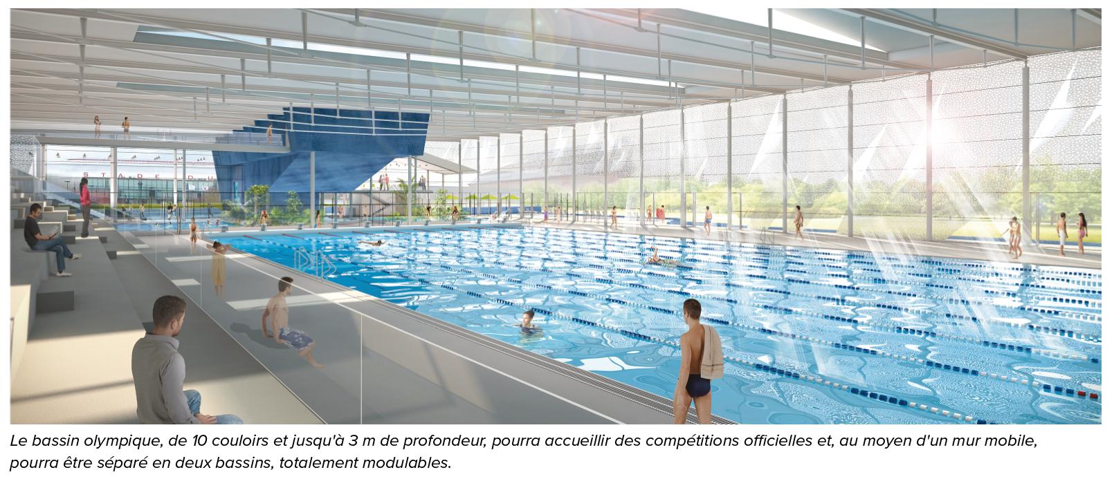 Un Projet Structurant Pour Valenciennes | pour Piscine Valenciennes