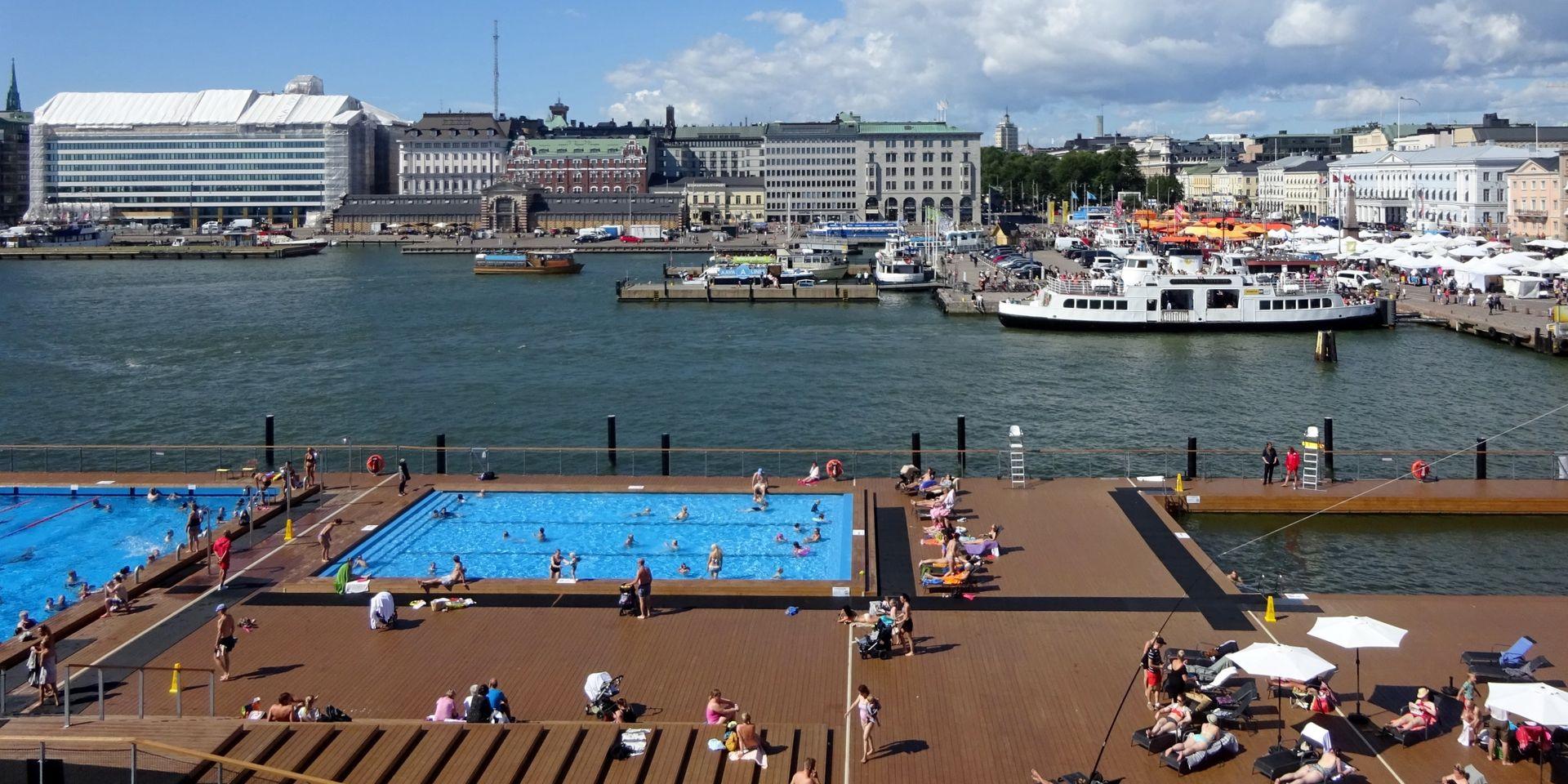 Une Piscine À L'extérieur Comme À Helsinki Pour Remplacer ... avec Piscine Mouscron