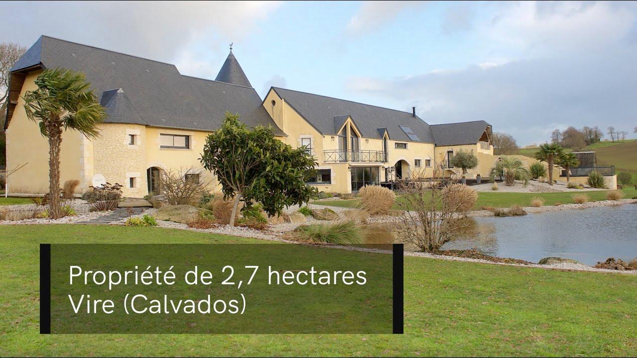 Une Propriété Avec Piscine Sur 2,7 Hectares À Vire (Calvados) destiné Piscine Vire